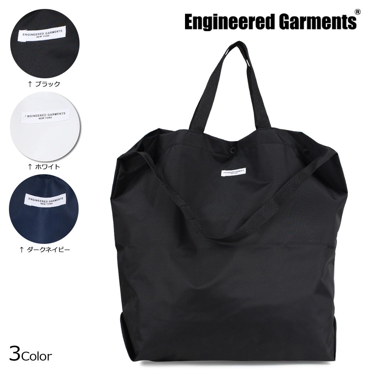 エンジニアド ガーメンツ ENGINEERED GARMENTS バッグ メンズ レディース トートバッグ ショルダー CARRY ALL TOTE ブラック ホワイト ネイビー