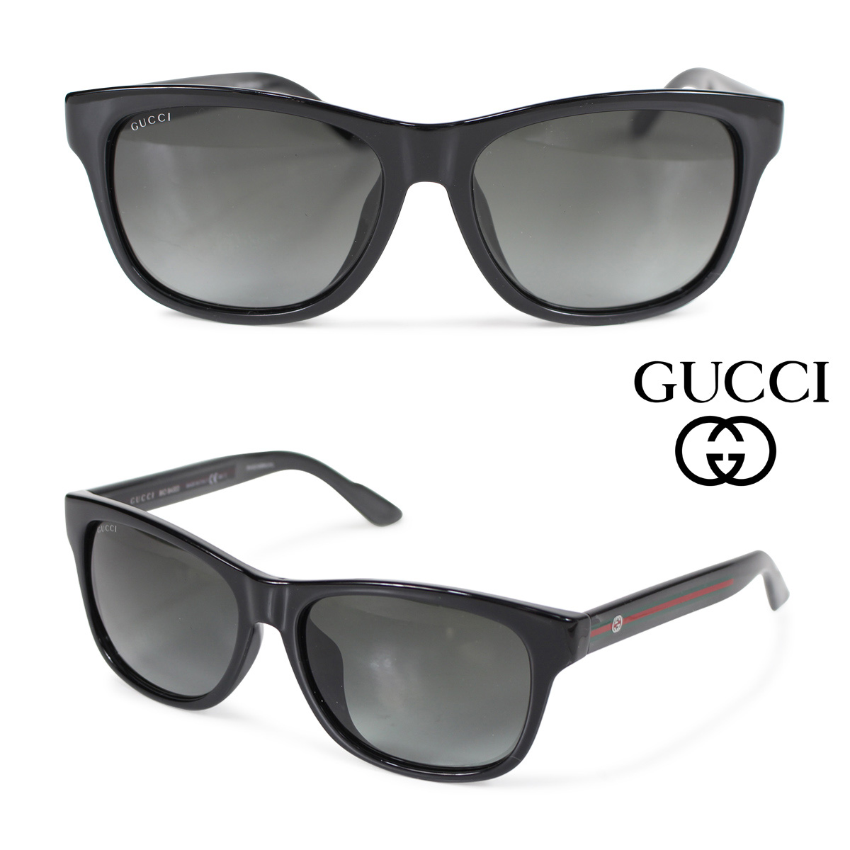 416a045d23 Gucci GUCCI sunglasses men gap Dis eyewear 3735FS IMXPT black  4 25 Shinnyu  load