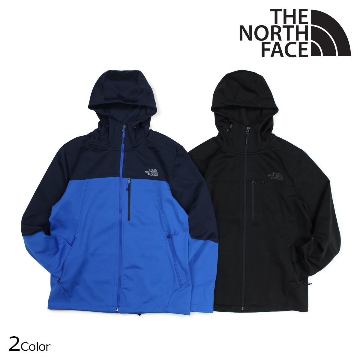 ノースフェイス THE NORTH FACE ジャケット マウンテンパーカー メンズ MENS APEX CANYONWALL HYBRID HOODIE ブラック ブルー NF0A3C6V 【決算セール 返品不可】