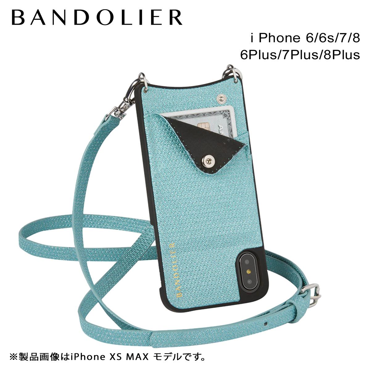 【最大2000円OFFクーポン配布】 BANDOLIER バンドリヤー iPhone8 iPhone7 7Plus 6s ケース スマホ アイフォン プラス EMMA GREEN SPARKLE メンズ レディース グリーン