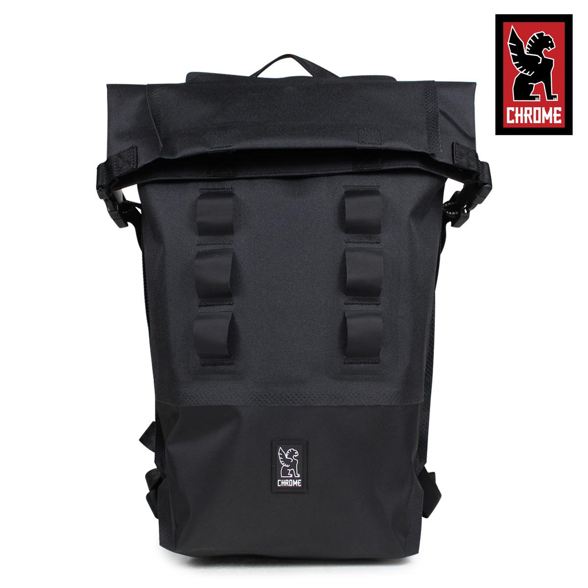【最大2000円OFFクーポン】 クローム CHROME リュック バッグ バックパック 18L メンズ レディース URBAN EX ROLLTOP 18 BG-217 ブラック