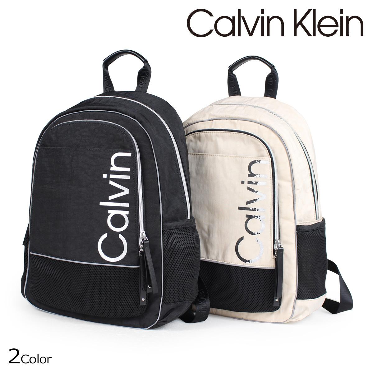 カルバンクライン Calvin Klein バッグ メンズ レディース リュック バッグパック ATHLEISURE BACKPACK ブラック ベージュ H7DKE6ZM