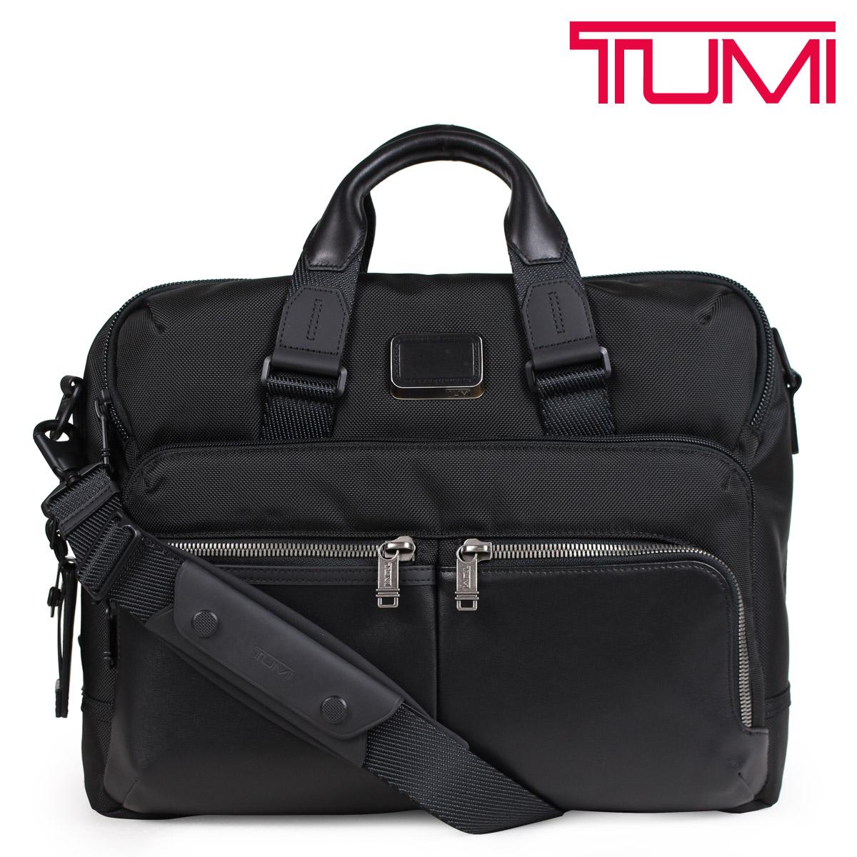 TUMI トゥミ ビジネス バッグ メンズ ALPHA BRAVO PATTERSON BRIEF ブリーフケース ブラック 232644D