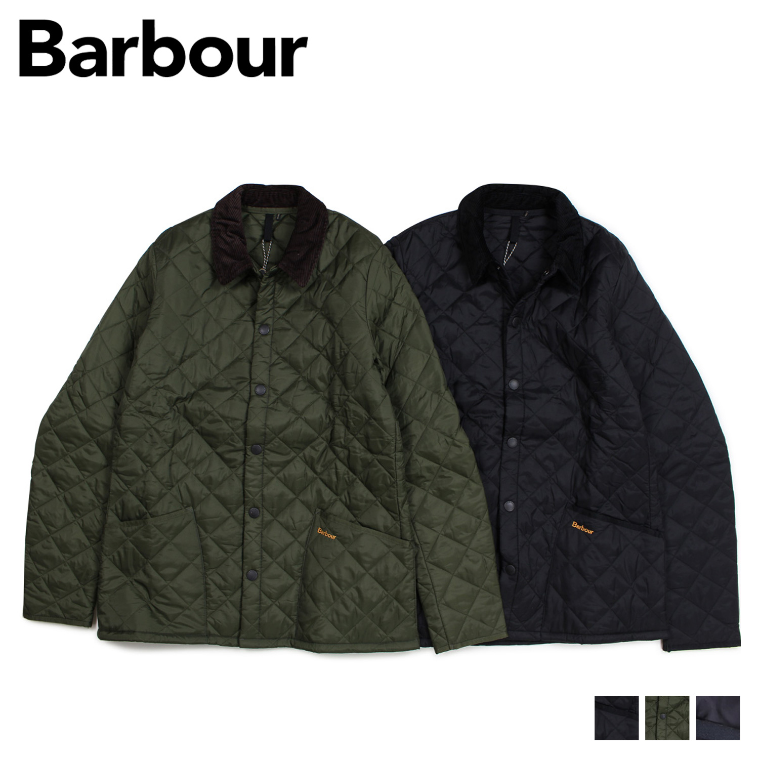 Barbour バブアー ジャケット メンズ ヘリテージ リッズデイル HERITAGE LIDDESDALE QUILTED JACKET ブラック オリーブ MQU0240