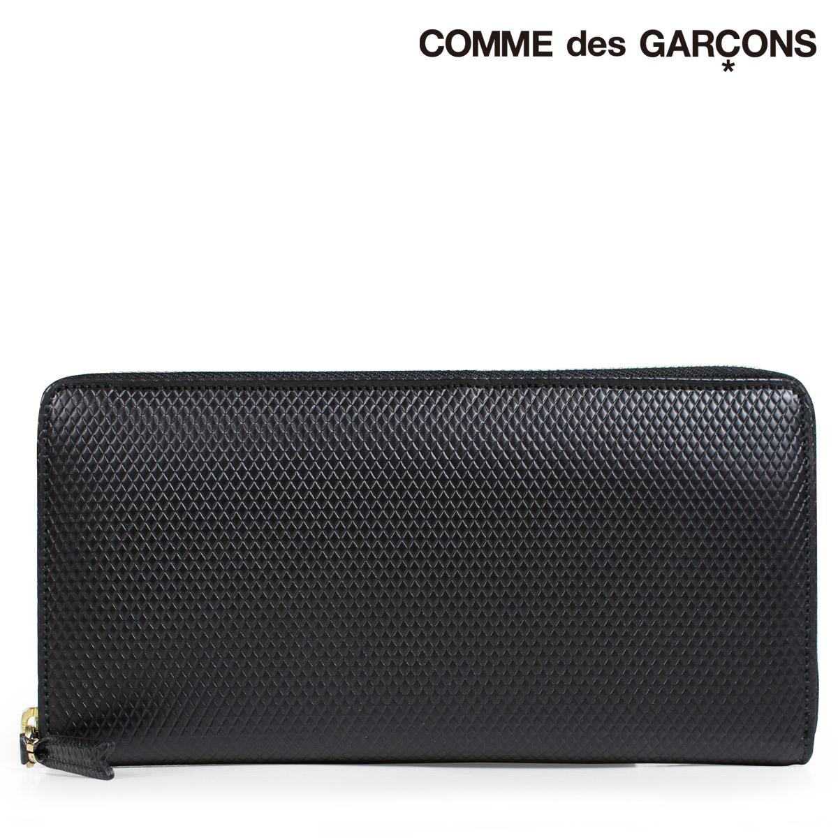 コムデギャルソン 財布 メンズ レディース 長財布 ラウンドファスナー COMME des GARCONS SA0110LG ブラック [9/10 新入荷]