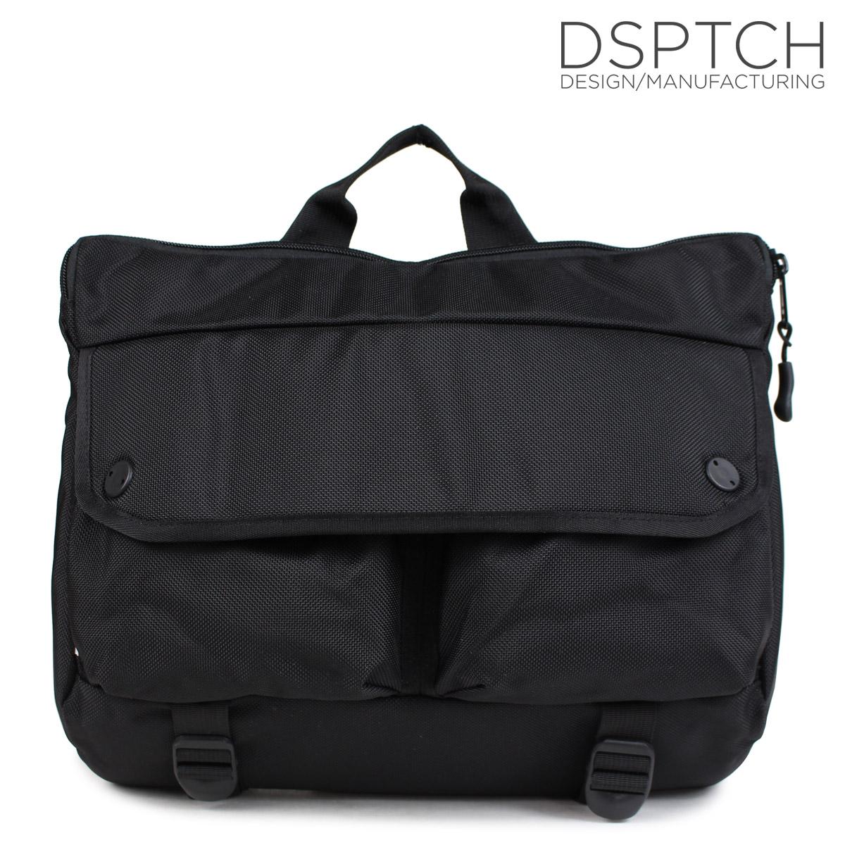 ディスパッチ DSPTCH バッグ ショルダーバッグ SHOULDER BAG 12L メンズ レディース ブラック PCK-SB [10/9 新入荷]