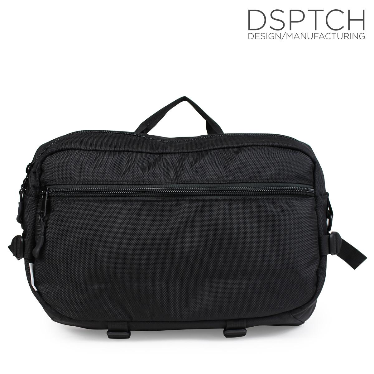 ディスパッチ DSPTCH バッグ ショルダーバッグ SLINGPACK 15L メンズ レディース ブラック PCK-SP [10/9 新入荷]