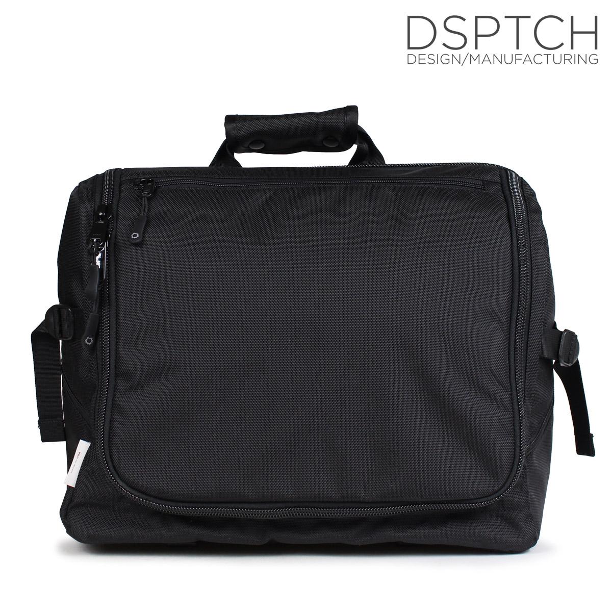 ディスパッチ DSPTCH バッグ メッセンジャーバッグ ショルダー TECH MESSENGER 20L メンズ レディース ブラック PCK-TM [10/9 新入荷]
