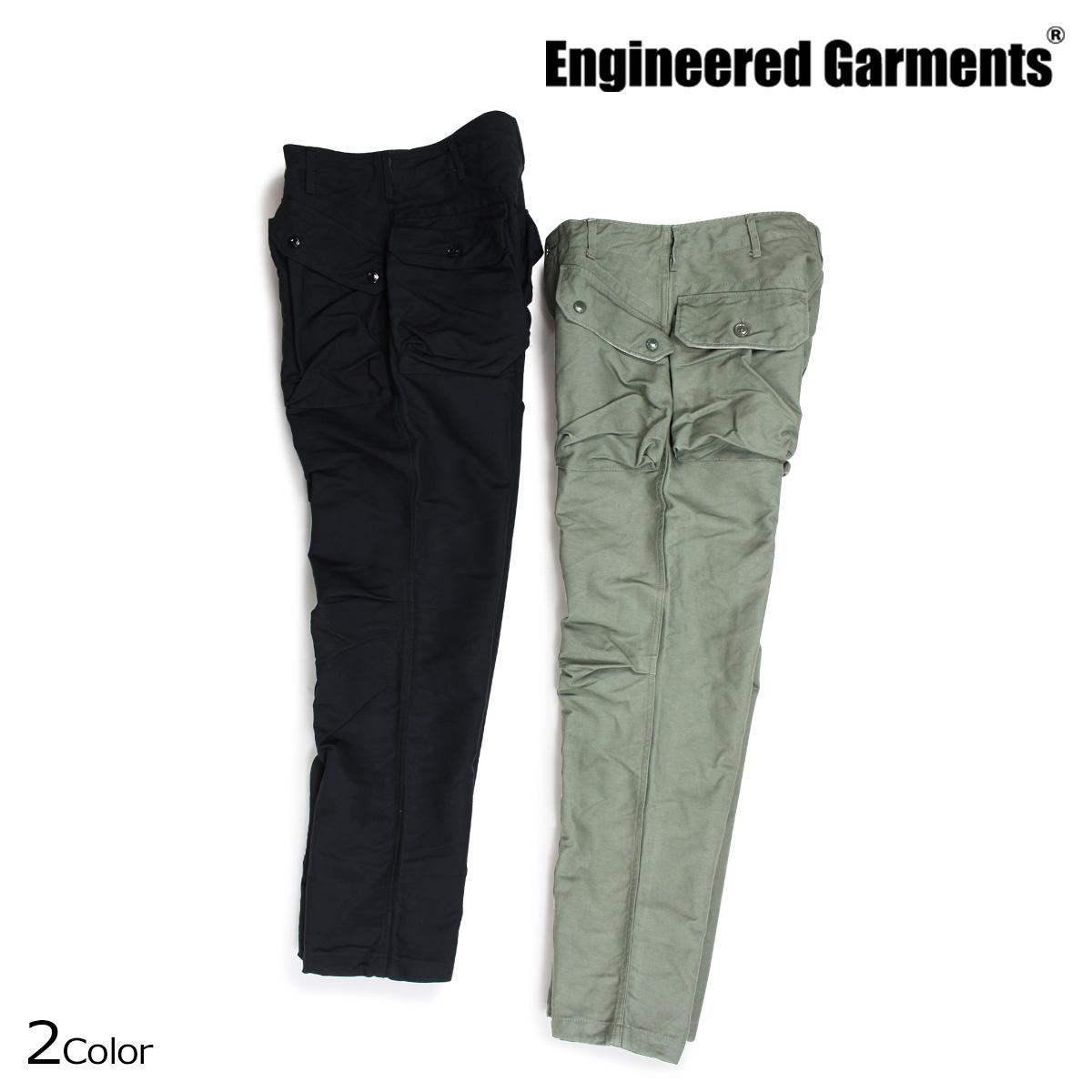 エンジニアド ガーメンツ ENGINEERED GARMENTS パンツ メンズ ミリタリー NORWEGIAN PANT ブラック オリーブ [10/4 新入荷]
