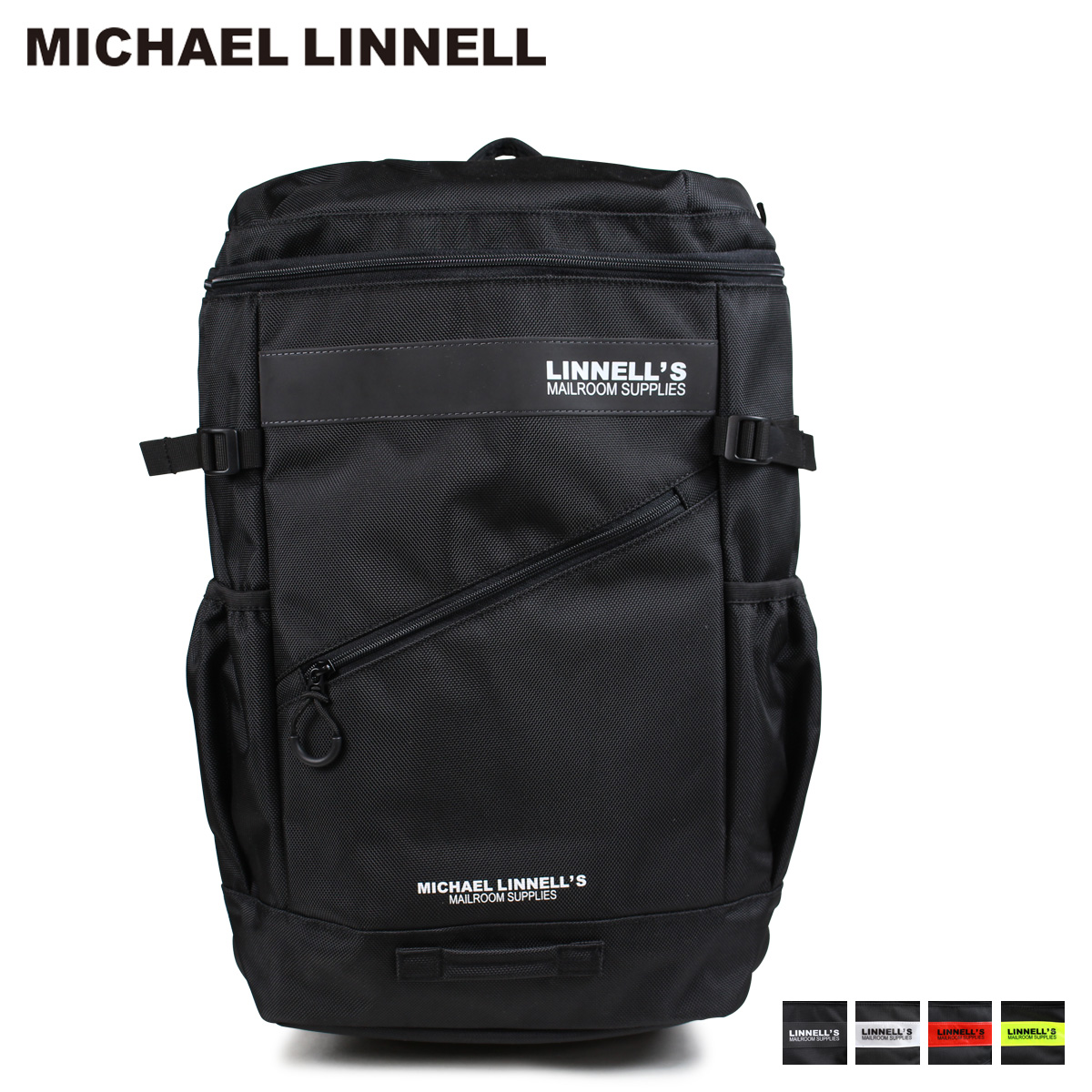 【最大2000円OFFクーポン】 マイケルリンネル MICHAEL LINNELL リュック バッグ 32L メンズ レディース バックパック BOX BACKPACK ML-020 [4/4 追加入荷]