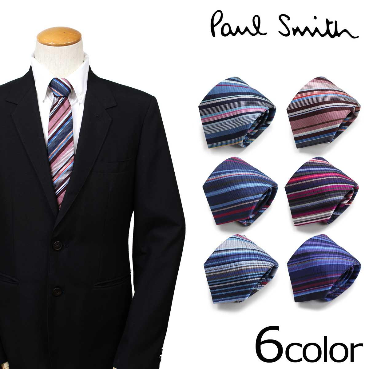 【最大2000円OFFクーポン】 ポールスミス Paul Smith ネクタイ シルク メンズ イタリア製 ビジネス 結婚式 ギフト