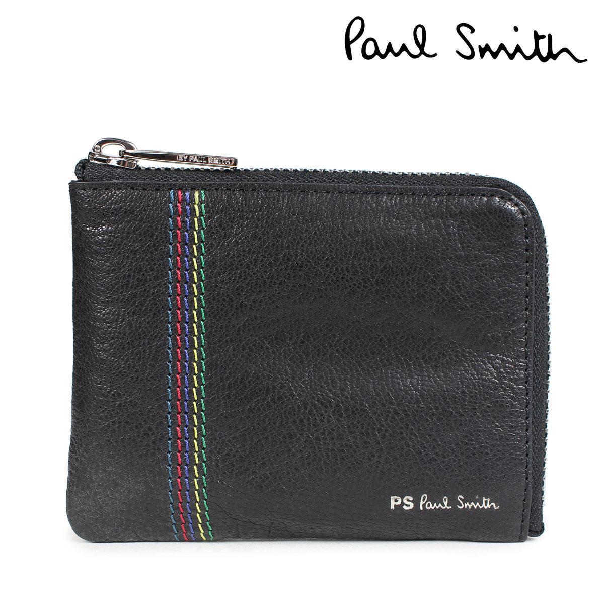 ポールスミス 財布 メンズ 小銭入れ Paul Smith WALLET レザー ブラック M2A 5318 APSSTI [10/11 新入荷]