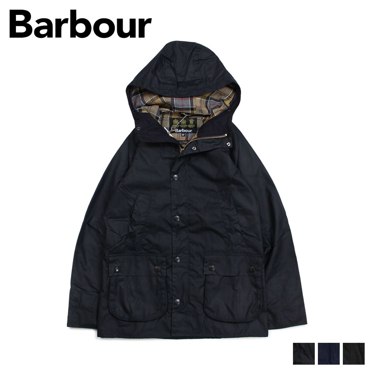 【最大2000円OFFクーポン】 Barbour バブアー ジャケット メンズ フーデッド ビデイル HOODED BEDALE SL MWX1369
