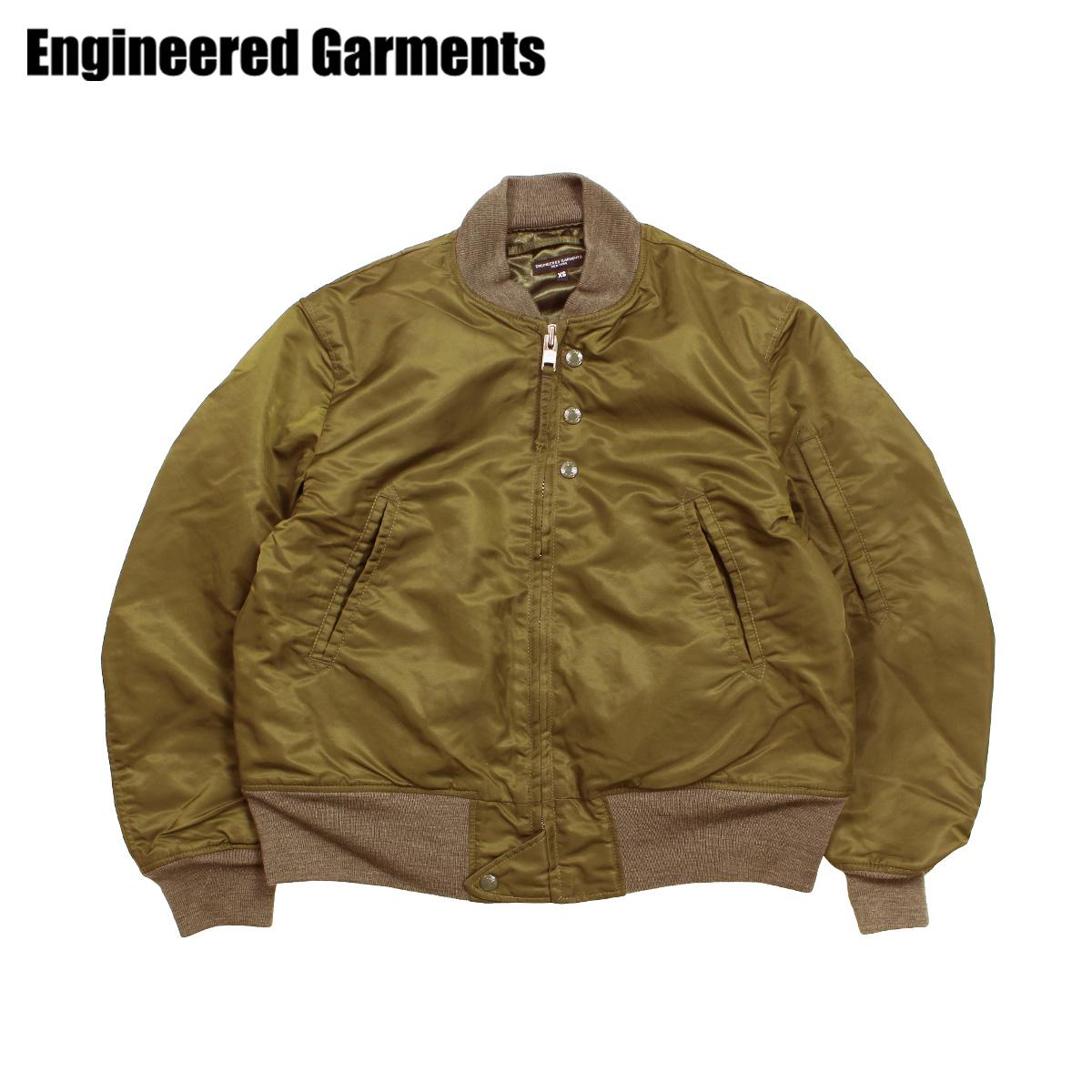 【最大2000円OFFクーポン】 エンジニアドガーメンツ ENGINEERED GARMENTS ジャケット メンズ MA1 フライトジャケット AVIATOR JACKET オリーブ F8D1184