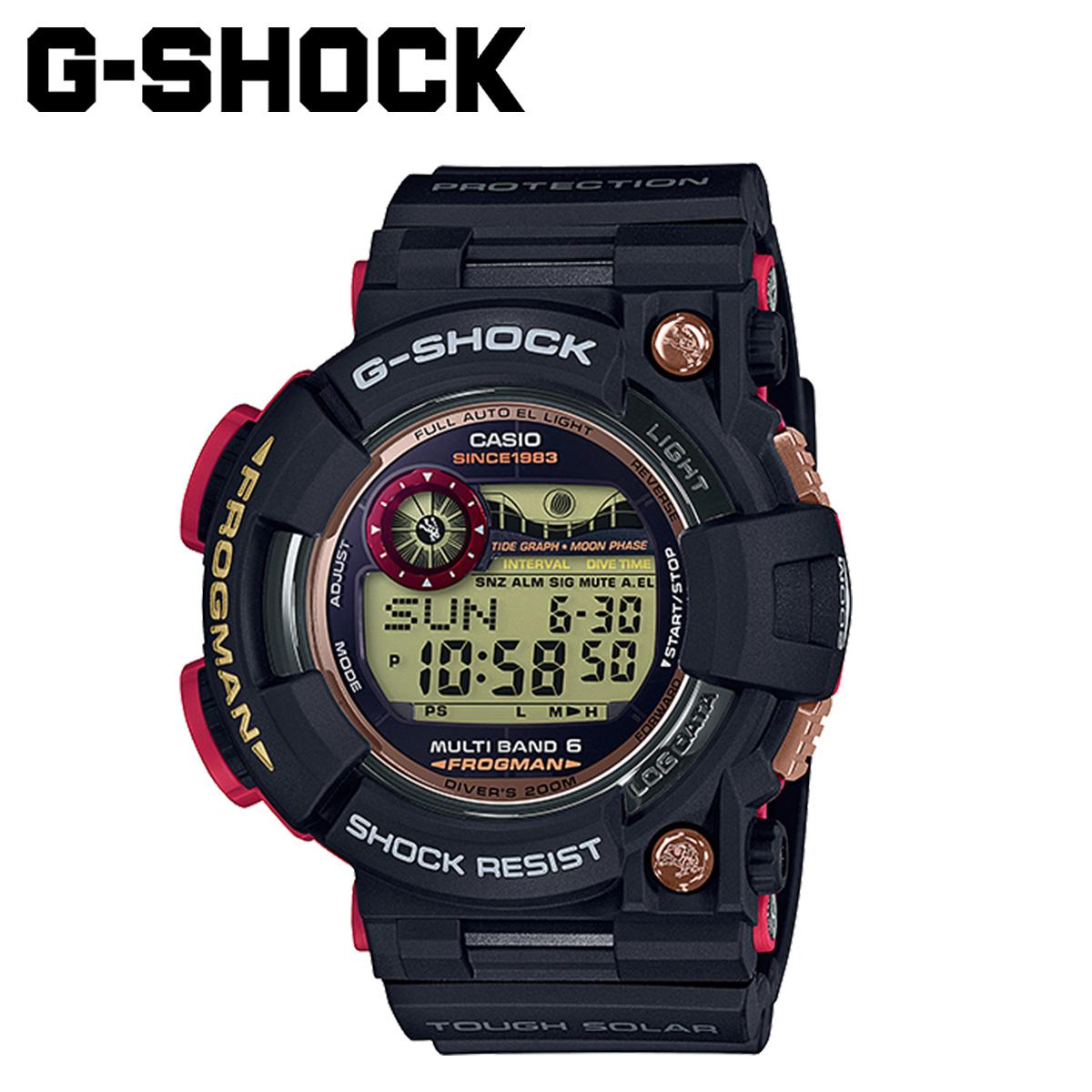 【最大2000円OFFクーポン】 カシオ CASIO G-SHOCK 腕時計 GWF-1035F-1JR FROGMAN MAGMA OCEAN 35周年 ブラック メンズ レディース