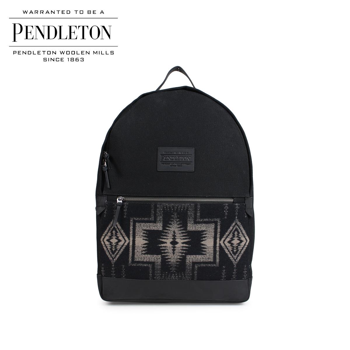 【最大2000円OFFクーポン】 ペンドルトン PENDLETON バックパック リュック メンズ レディース BACKPACK ブラック GC834