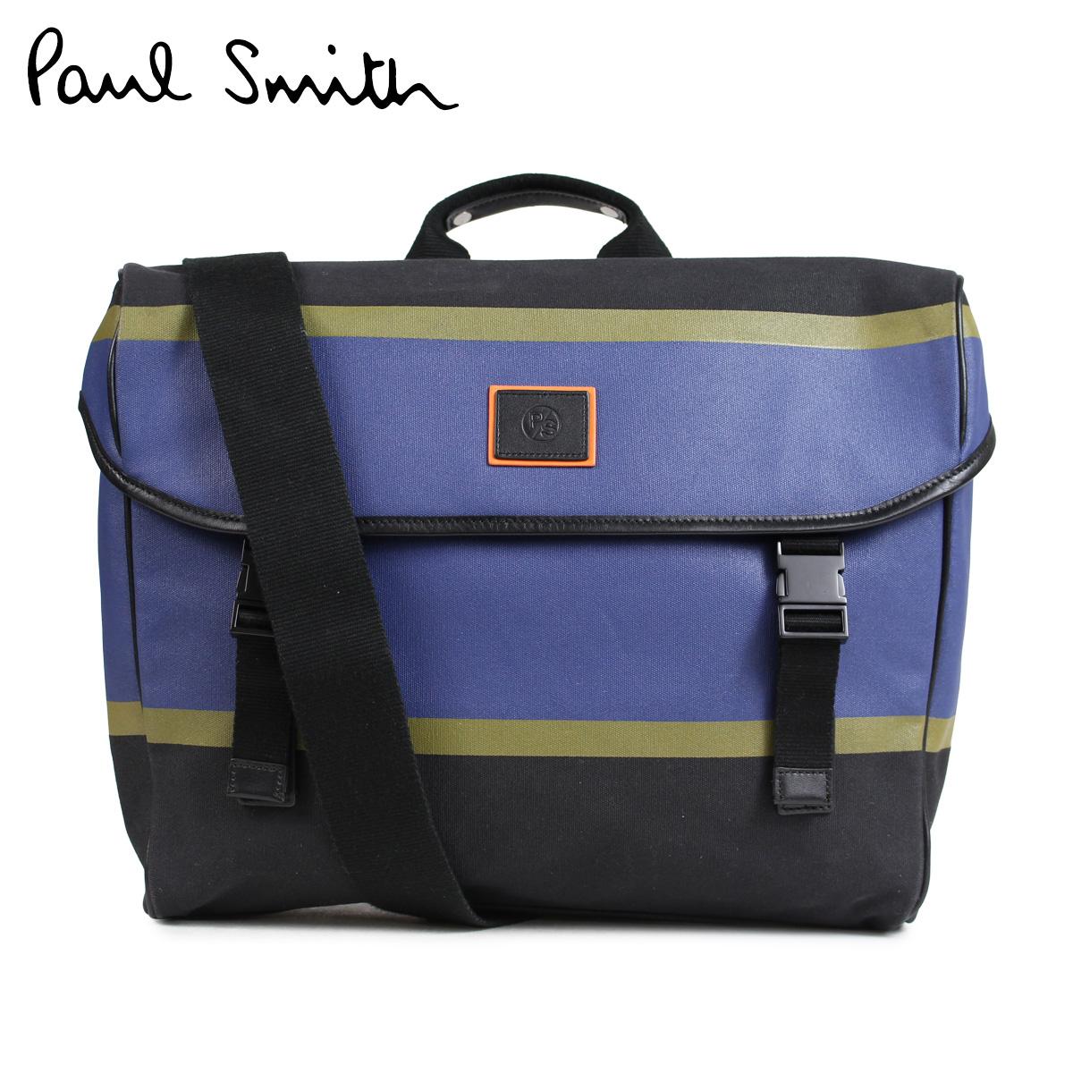 【最大2000円OFFクーポン】 ポールスミス Paul Smith バッグ メッセンジャーバッグ メンズ MESSENGER BAG ブラック ASXD 5007 L841