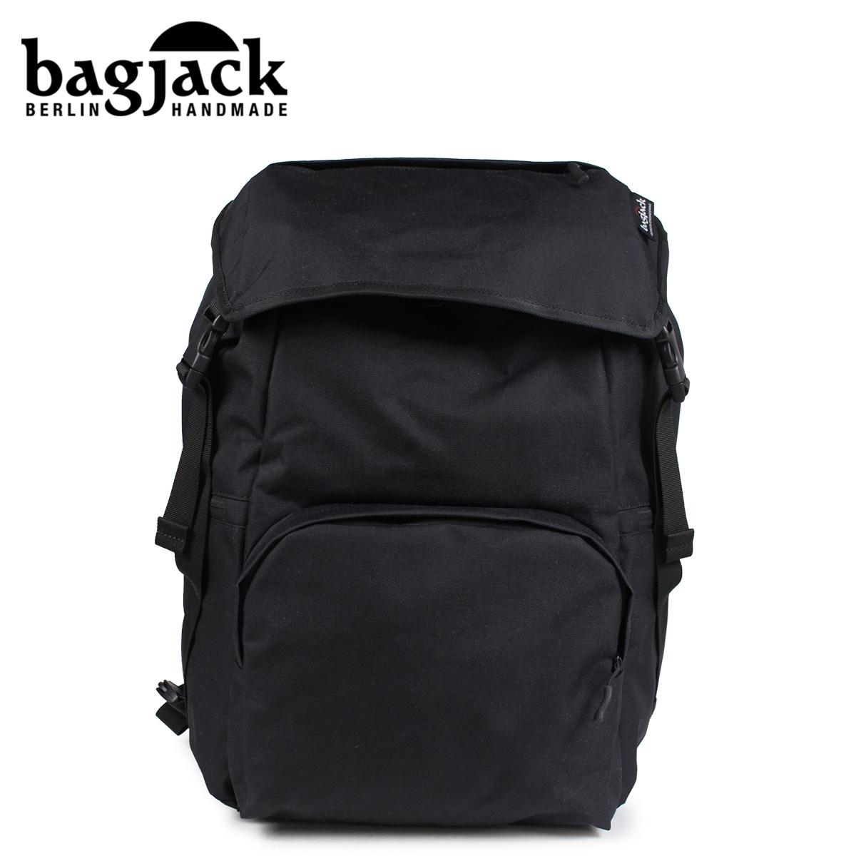 bagjack バッグジャック リュック バックパック メンズ レディース 17L RUCKSACK CLASSIC S ブラック