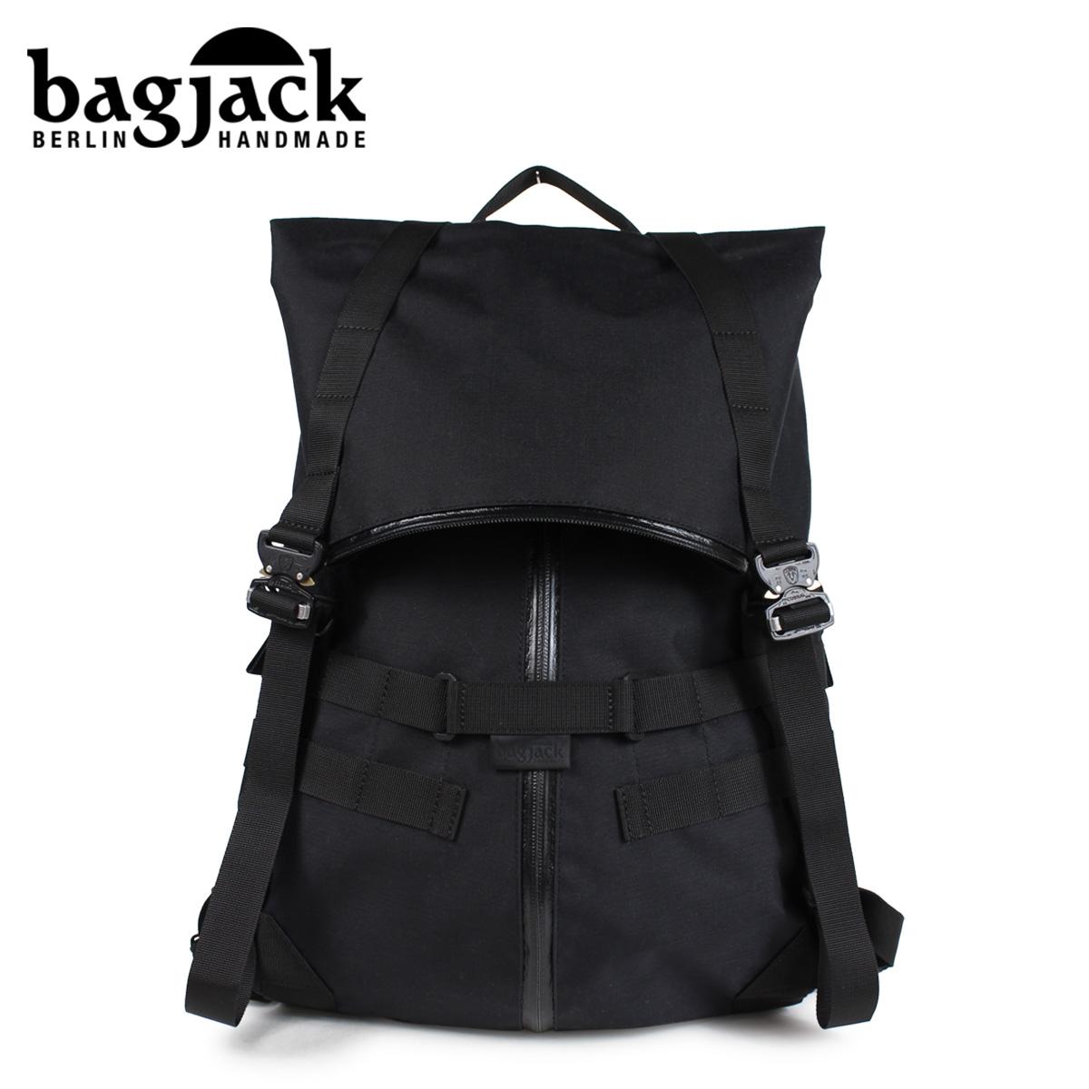 bagjack バッグジャック リュック バックパック メンズ レディース MORPH PACK ブラック