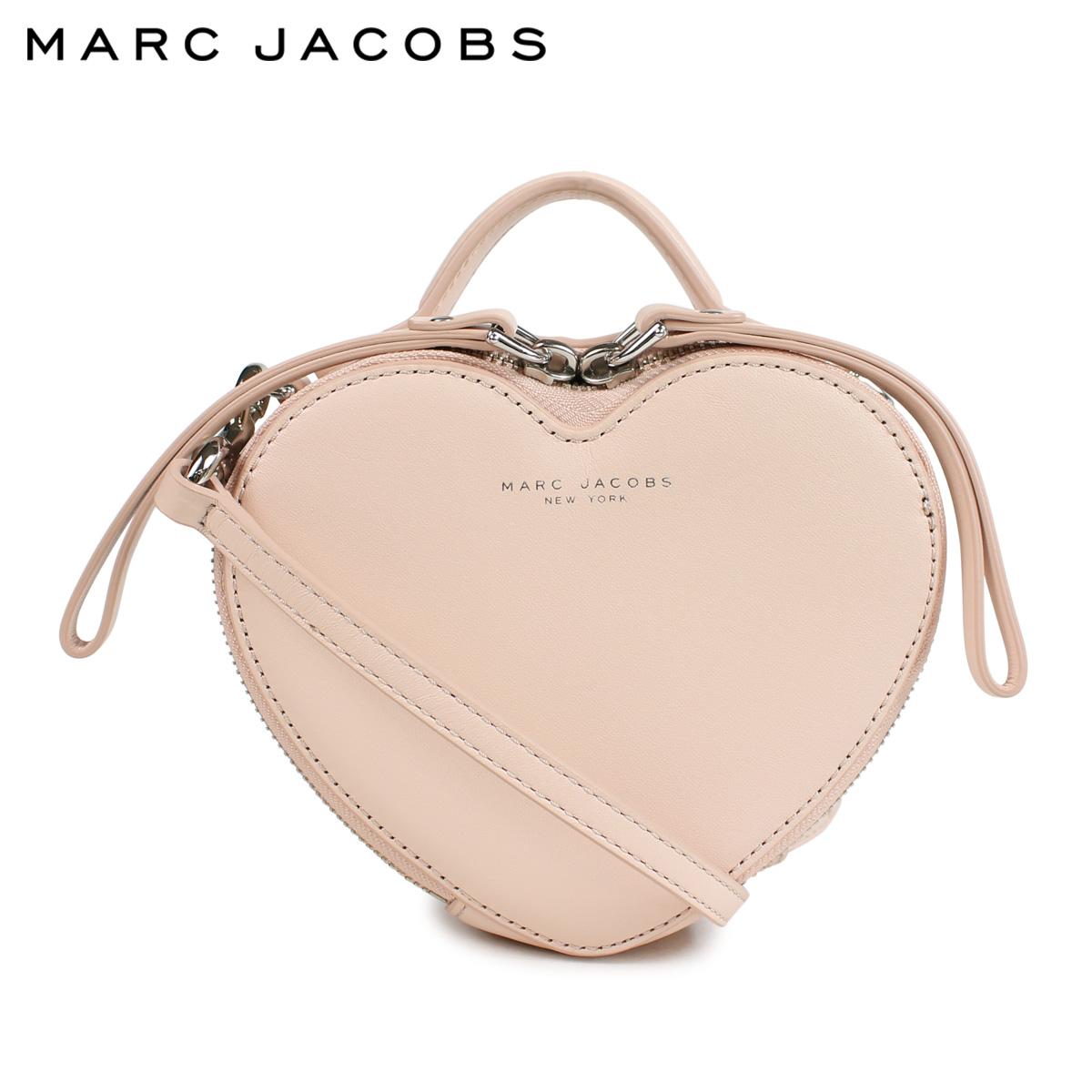 【最大2000円OFFクーポン】 マークジェイコブス MARC JACOBS バッグ ショルダーバッグ レディース HEART LEATHER CROSSBODY BAG ピンク M7000059