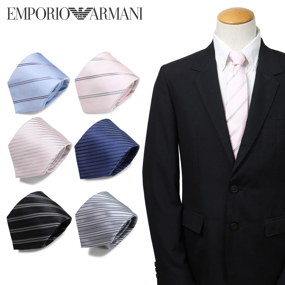 エンポリオ アルマーニ EMPORIO ARMANI ネクタイ メンズ イタリア製 シルク ビジネス 結婚式