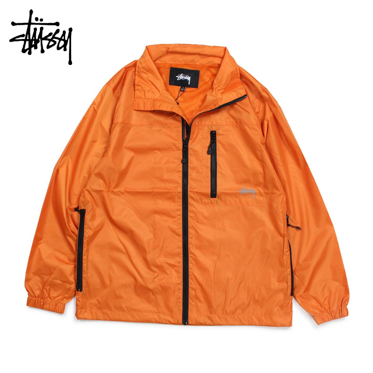 【最大2000円OFFクーポン】 ステューシー STUSSY ジャケット ブルゾン メンズ MICRO RIP JKT オレンジ 115404