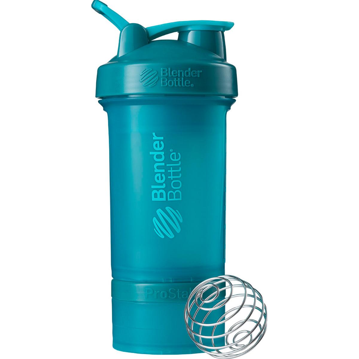 ブレンダーボトル Blender Bottle プロテイン シェイカー ボトル スポーツミキサー 650ml プロスタック PROSTAK ライト ブルー BBPSE22