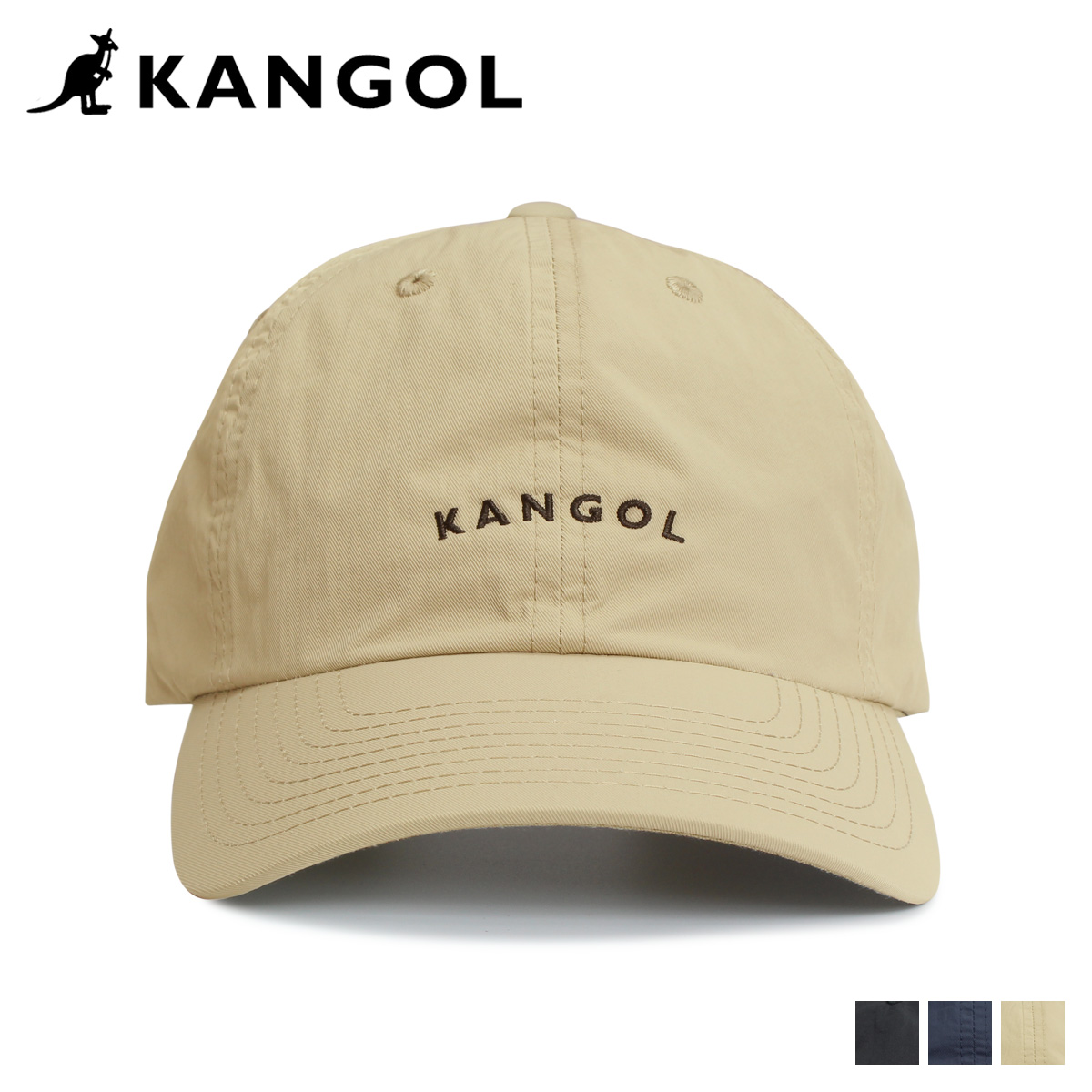 カンゴール KANGOL キャップ 帽子 メンズ レディース VINTAGE BASEBALL ブラック ネイビー ベージュ 黒 195169025