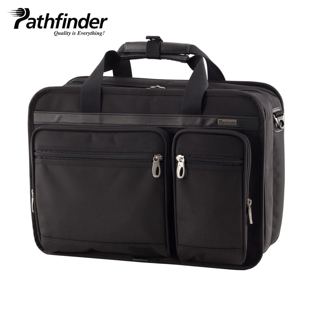 パスファインダー Pathfinder バッグ ビジネスバッグ ブリーフケース ショルダー メンズ AVENGER ブラック 黒 PF1810B