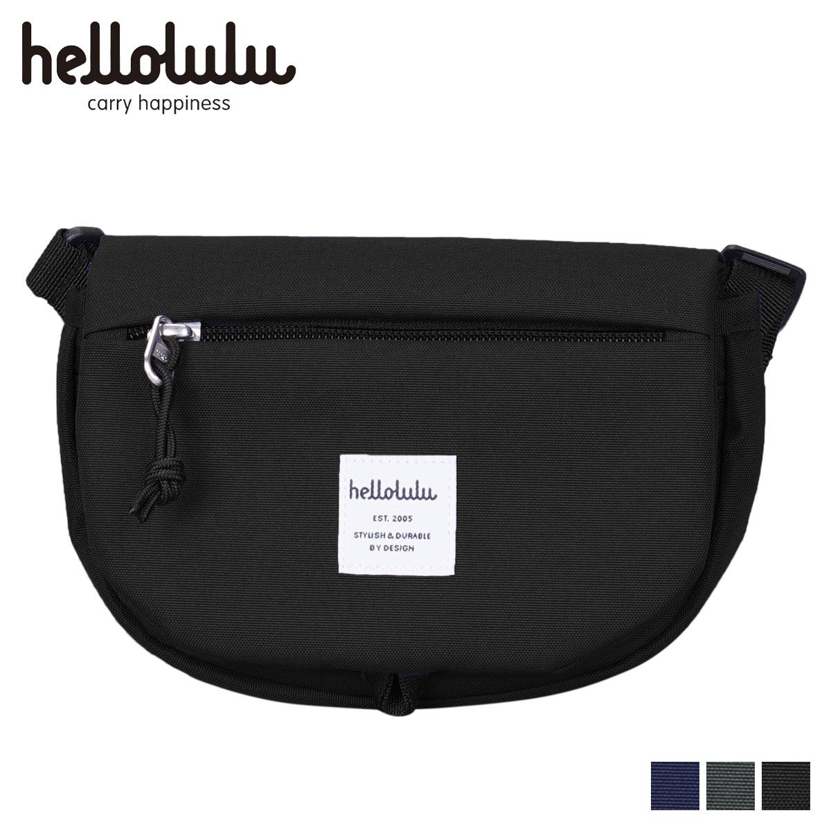 ハロルル hellolulu ショルダーバッグ バッグ エディ メンズ レディース EDDY ブラック チャコール ダーク ブルー 黒 5075118