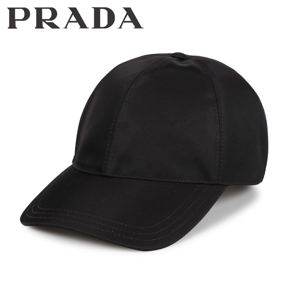 ポイント最大44倍 【送料無料】 【あす楽対応】 プラダ PRADA キャップ 帽子 ベースボールキャップ 【ブラックフライデー ポイント最大44倍】 プラダ PRADA キャップ 帽子 ベースボールキャップ メンズ レディース BASEBALL CAP ブラック 黒 2HC2742B15 [10/9 新入荷]