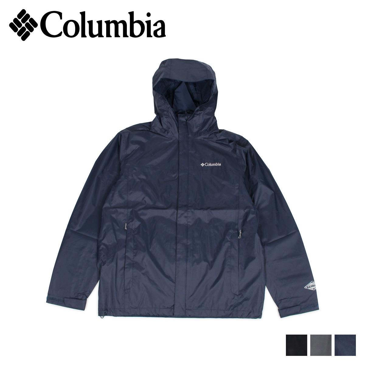 コロンビア Columbia ジャケット マウンテンパーカー ウォータータイト メンズ WATERTIGHT 2 ブラック グレー ネイビー 黒 1533891