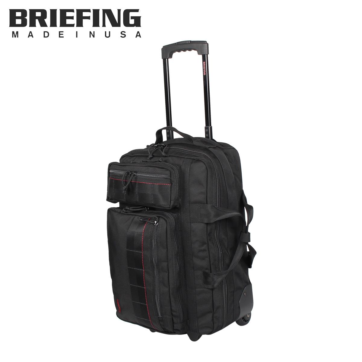 【最大2000円OFFクーポン】 ブリーフィング BRIEFING バッグ スーツケース キャリーバッグ メンズ T-3 ブラック 黒 181501