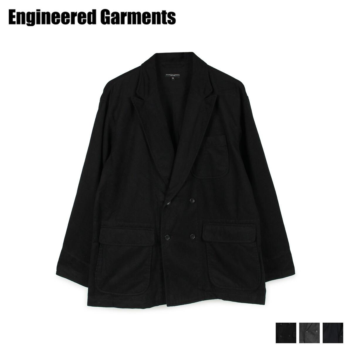 【最大2000円OFFクーポン】 エンジニアドガーメンツ ENGINEERED GARMENTS ジャケット メンズ DL JACKET ブラック グレー ネイビー 黒 19FD003