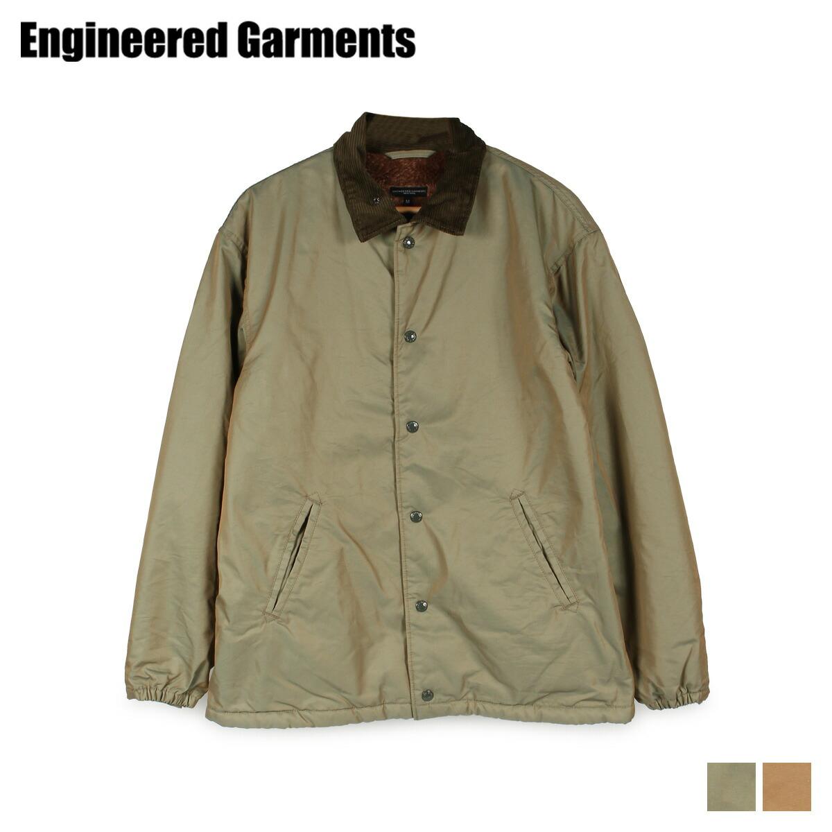 【最大2000円OFFクーポン】 エンジニアドガーメンツ ENGINEERED GARMENTS ジャケット メンズ GROUND JACKET オリーブ オレンジ 19FD017-T