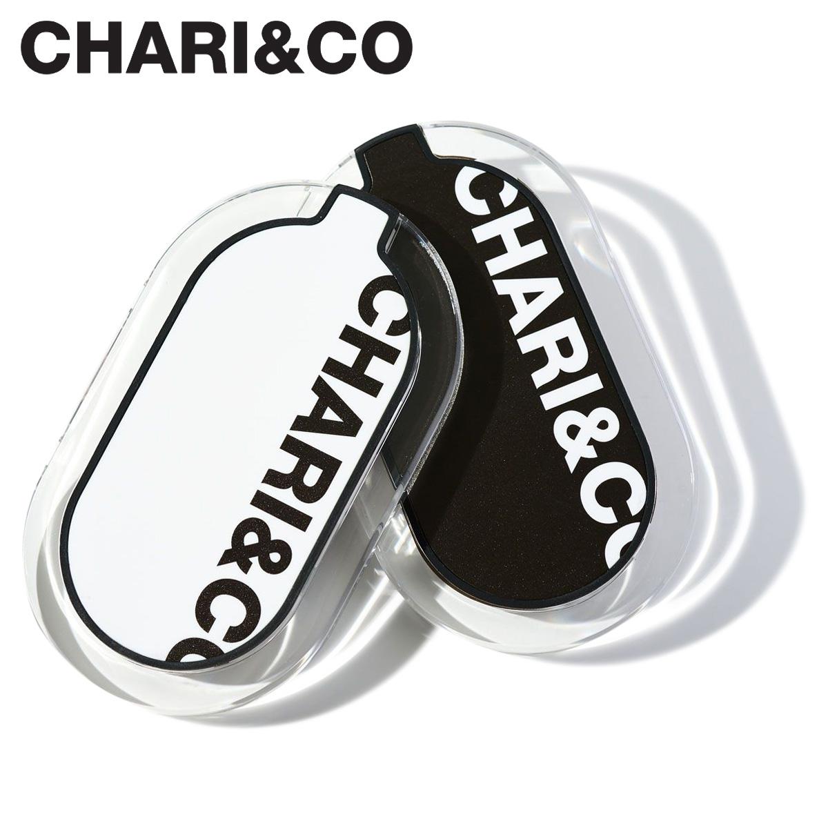 CHARI&CO チャリアンドコー 充電器 ワイヤレス充電器 Qi対応 iPhone アンドロイド スマホ スマートフォン 携帯 BOLD LOGO MOBILE CHARGER ブラック ホワイト 黒 白 [11/28 新入荷]