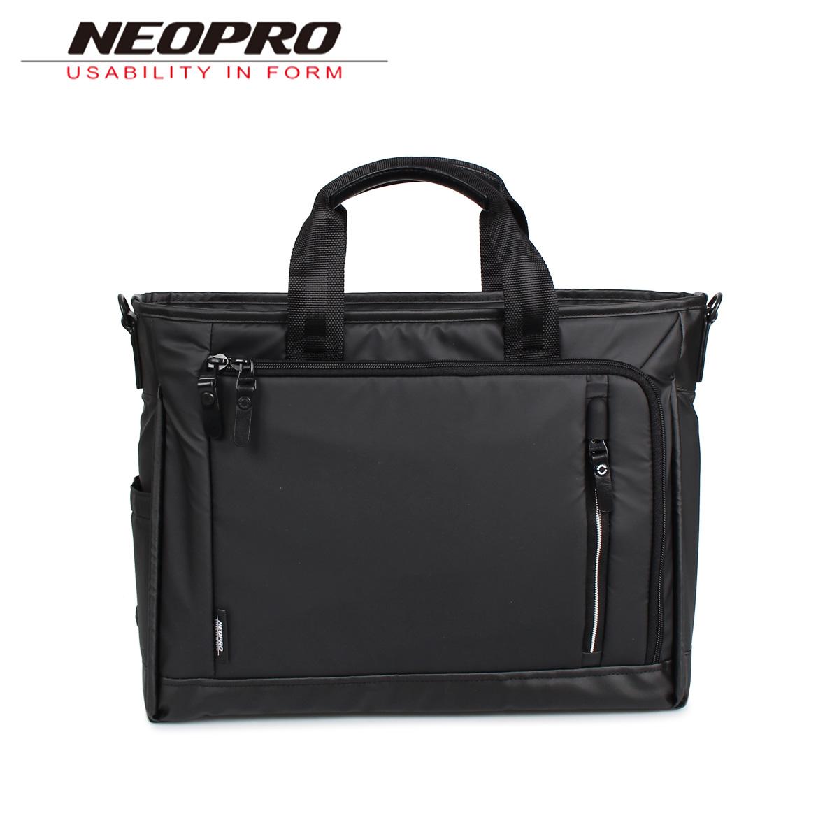 ネオプロ NEOPRO ビジネスバッグ ブリーフケース ショルダーバッグ 2WAY メンズ COMMUTE LIGHT ブラック 黒 2-760