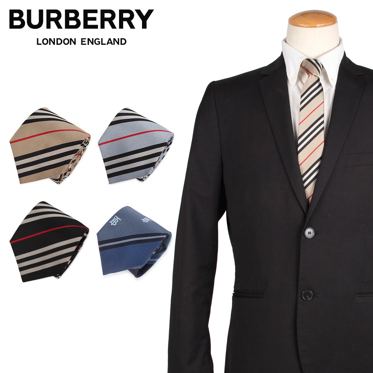 バーバリー BURBERRY ネクタイ メンズ TIE シルク 結婚式