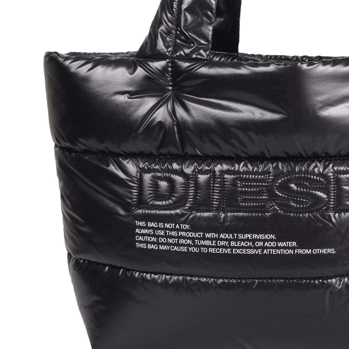 ディーゼル DIESEL バッグ トートバッグ レディース MIRA SHOPPE ブラック 黒 X06459 P2628rQBoedCWx