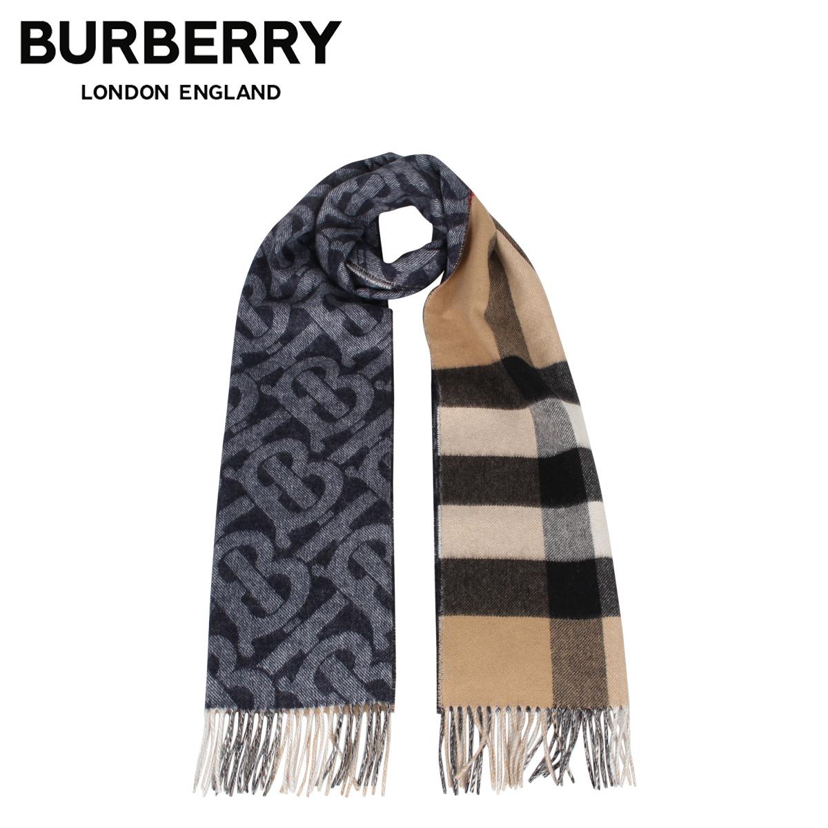 【最大2000円OFFクーポン】 バーバリー BURBERRY マフラー スカーフ メンズ レディース チェック MUFFLER インディゴ 8024931