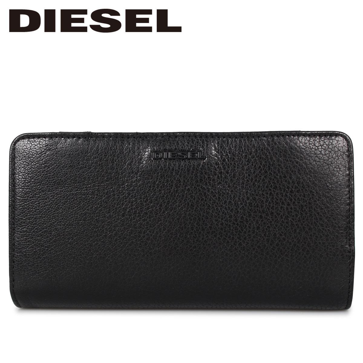 ディーゼル DIESEL 財布 長財布 メンズ L字ファスナー V-24 ZIP ブラック 黒 X06644-P3043