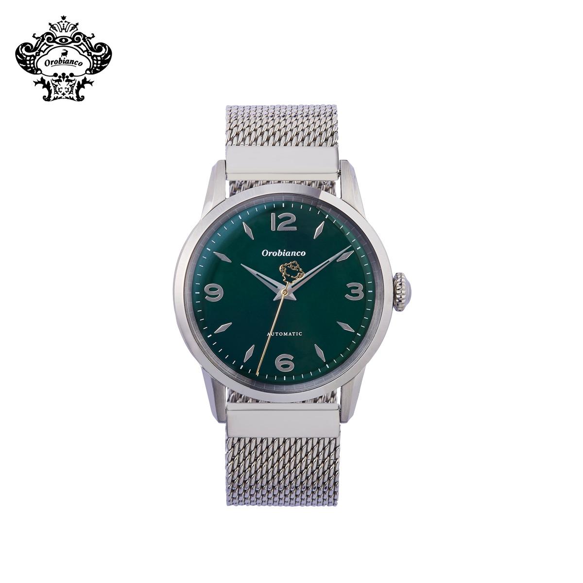 オロビアンコ Orobianco 時計 腕時計 メンズ 自動巻き アナログ ERUDITO シルバー OR0073-101