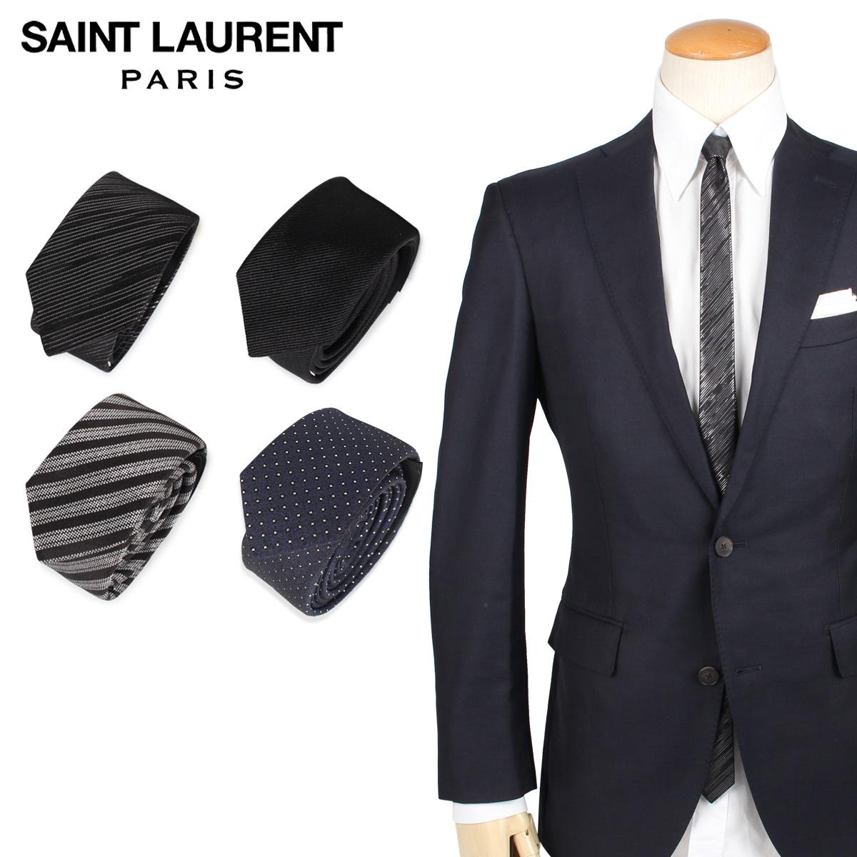 サンローラン パリ SAINT LAURENT PARIS ネクタイ メンズ TIE