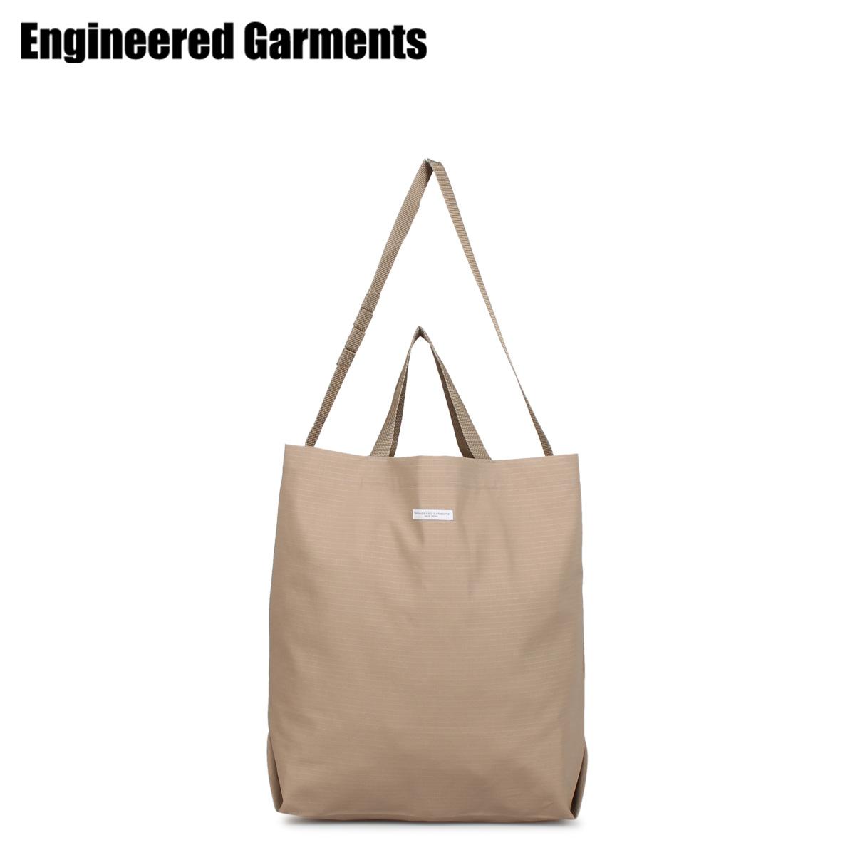 エンジニアドガーメンツ ENGINEERED GARMENTS バッグ トートバッグ ショルダーバッグ メンズ レディース 2WAY CARRY ALL TOTE ベージュ 20S1H015fgvb6yY7Im