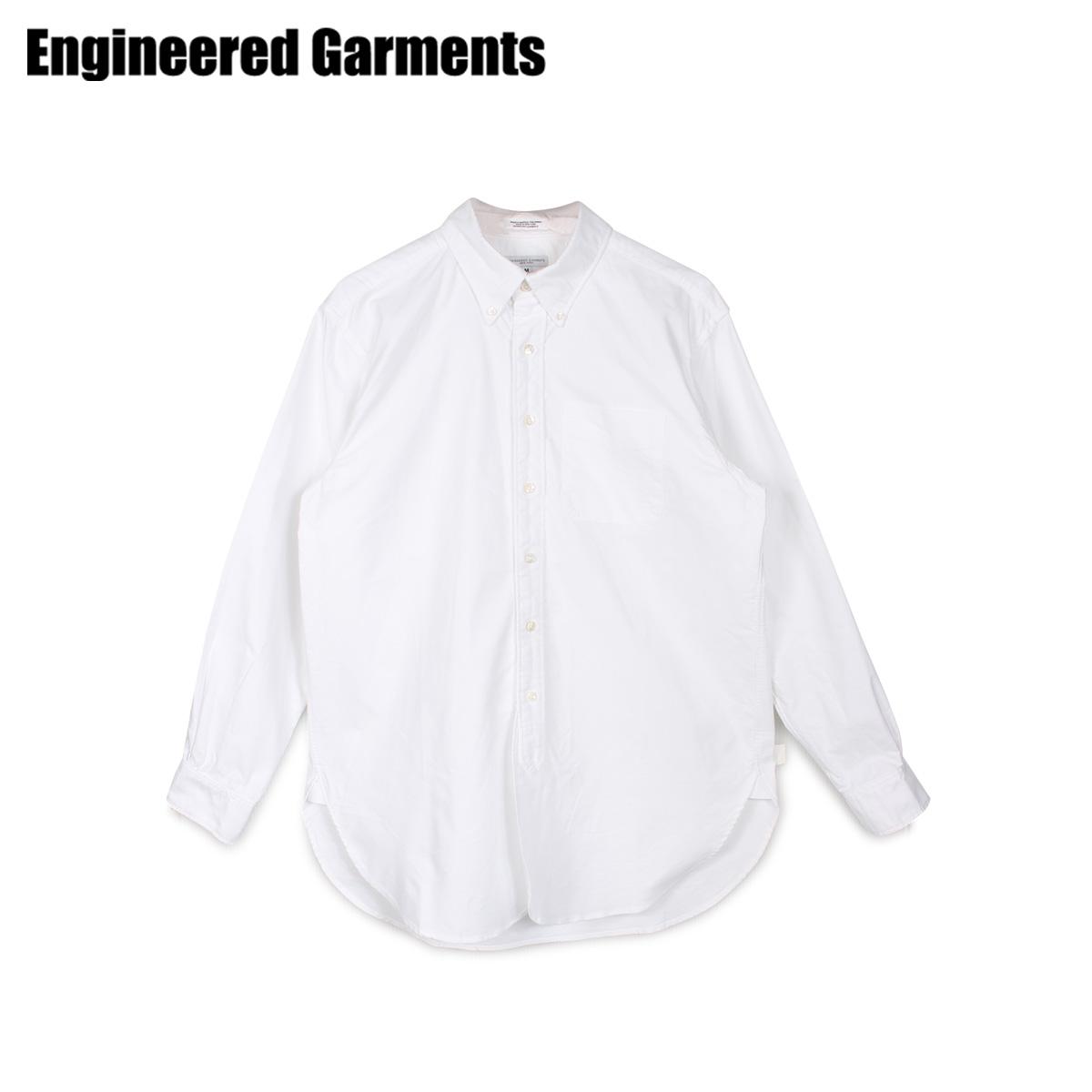 【最大2000円OFFクーポン】 エンジニアドガーメンツ ENGINEERED GARMENTS シャツ 長袖 オックスフォードシャツ メンズ 19 CENTURY BD SHIRT ホワイト 白 20S1A001