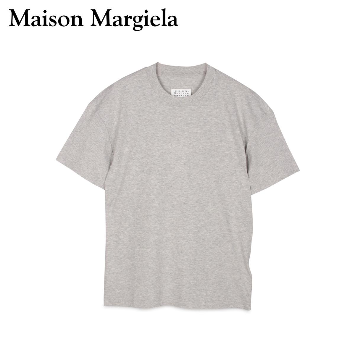 【最大2000円OFFクーポン】 メゾンマルジェラ MAISON MARGIELA Tシャツ 半袖 メンズ T SHIRT グレー S50GC0600-856M
