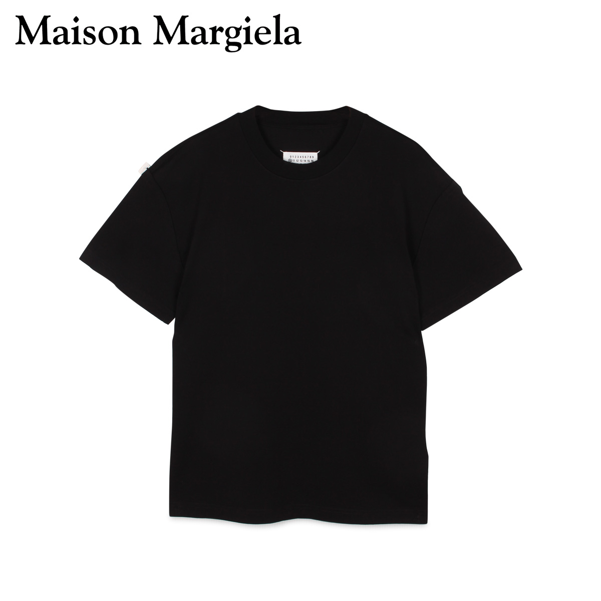 【最大2000円OFFクーポン】 メゾンマルジェラ MAISON MARGIELA Tシャツ 半袖 メンズ T SHIRT ブラック 黒 S50GC0600-900