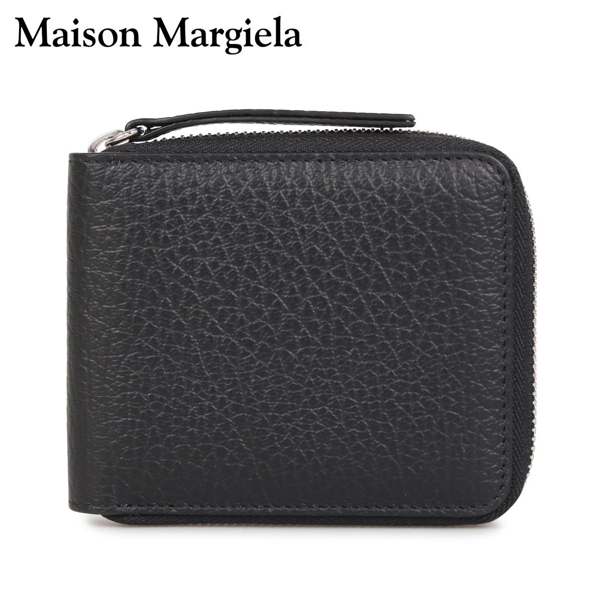 メゾンマルジェラ MAISON MARGIELA 財布 二つ折り メンズ レディース WALLET ブラック 黒 S56UI0111 [3/12 新入荷]
