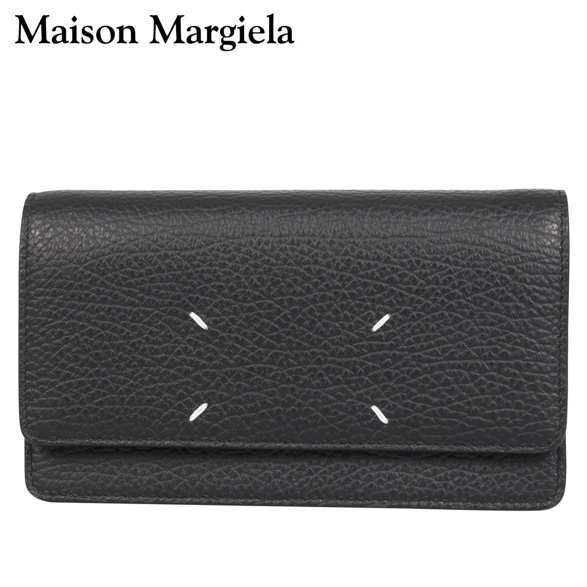 最安値級価格 メゾンマルジェラ MAISON MARGIELA 財布 長財布 ショルダー ショルダー レディース WALLET SHOULDER S56UI0147 WALLET ブラック 黒 S56UI0147, フジバンビ:3f3a6529 --- cpps.dyndns.info