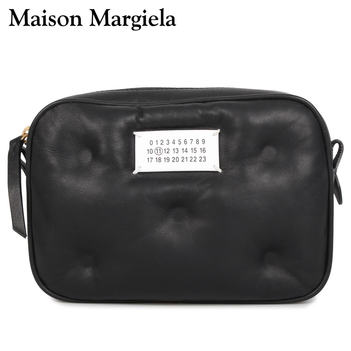 メゾンマルジェラ MAISON MARGIELA バッグ ショルダーバッグ ポーチ レディース GLAM SLAM CROSS BODY BAG ブラック 黒 S56WG0108 PR818 [3/12 新入荷]